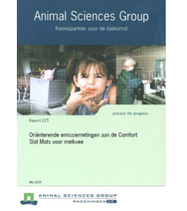 Dairy Campus Emissions Rapport 225 (Ammonia)