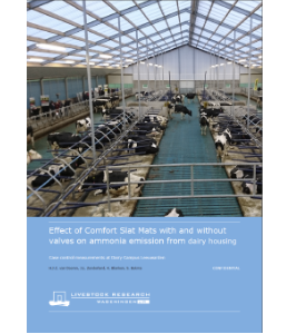 Dairy Campus Emissions Rapport 448 (Ammonia)
