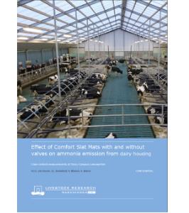 Dairy Campus Emissions Rapport 448 (Ammonia)